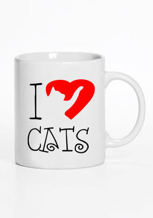 I Love Cats - Kupa