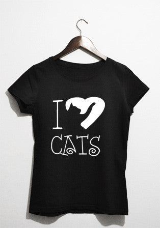 T-shirt - I Love Cats