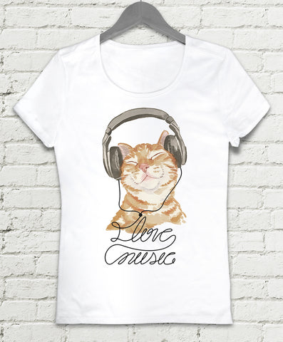 T-shirt - Love Music