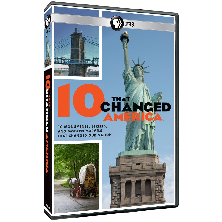 10 Bldgs That Changed America - DVD