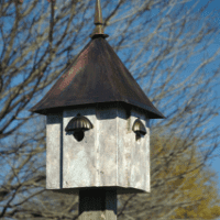 Avian Meadows  Birdhouse.
