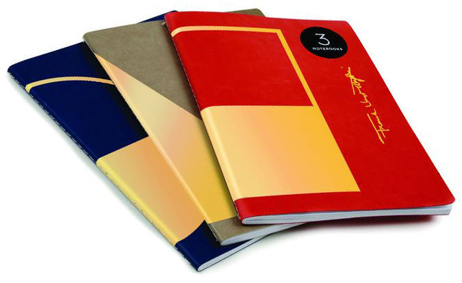 Set of 3 Frank Lloyd Wright Notebooks