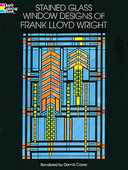 Window Designs/FLW Coloring Bk