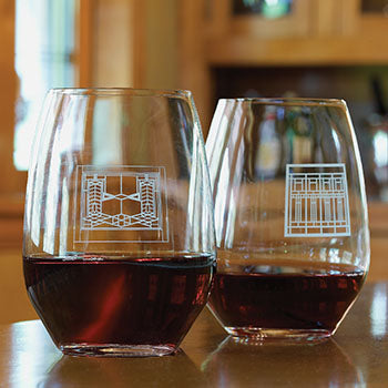 Robie House Wine Glass - Set of 4