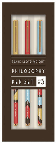 Frank Lloyd Wright Quotes Pen Set