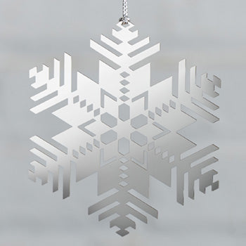 Frank Lloyd Wright Snowflake Ornament