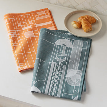 Oak Park Tea Towel