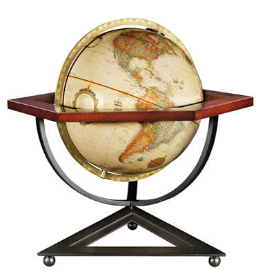 Hexagon Desk Globe.