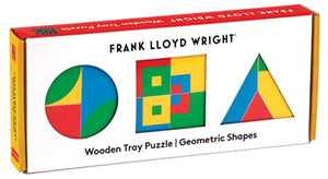 Frank Lloyd Wright Geometric Shapes Wood Puzzle