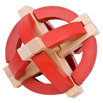 Frank Lloyd Wright Sphere Wood Puzzle