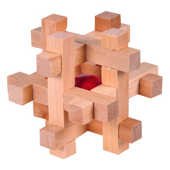 Frank Lloyd Wright Square Wood Puzzle