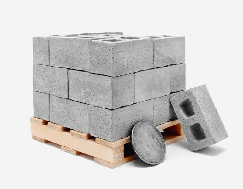 Desktop Building Set - Cinder Blocks