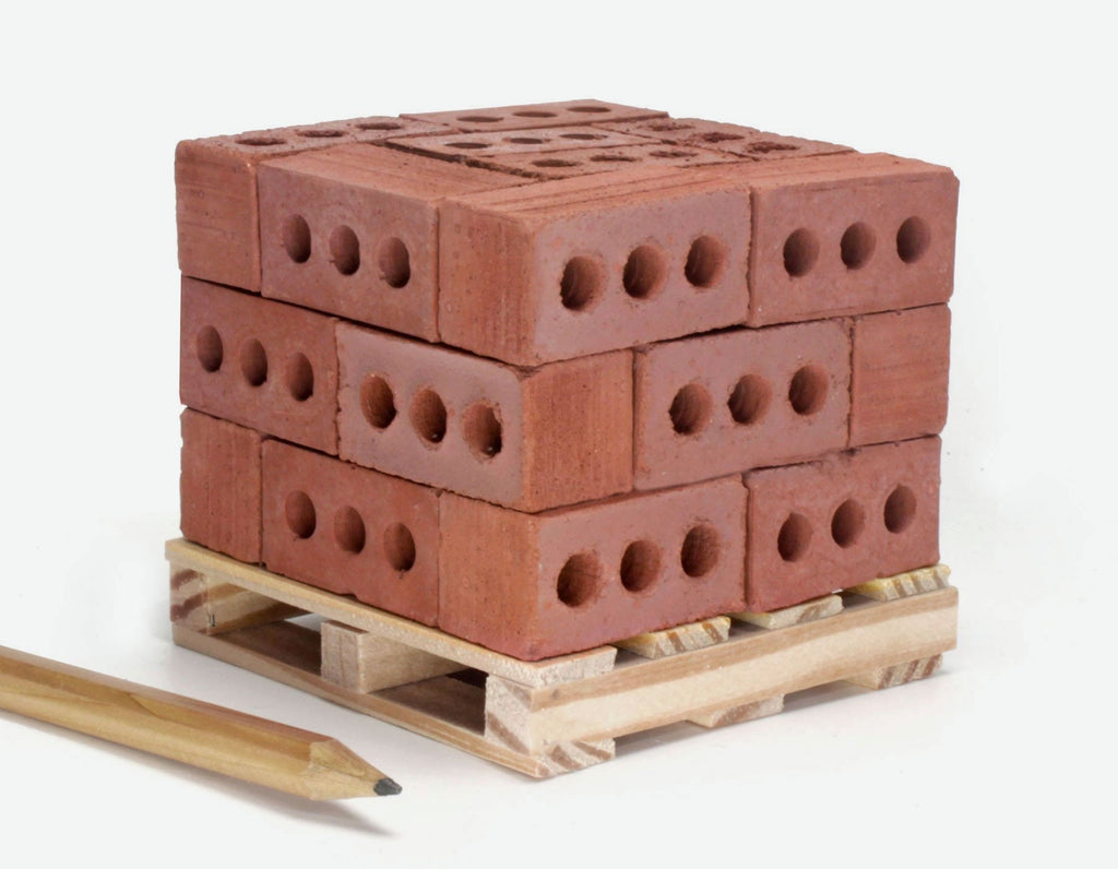 Desktop Building Set - Red Bricks