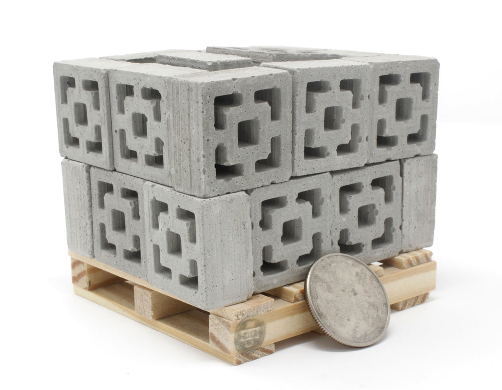 Desktop Building Set - Breeze Blocks