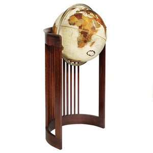 Barrel Floor Globe.