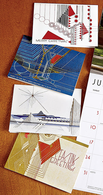 Holiday Cards - Frank Lloyd Wright Luxe 20/box set