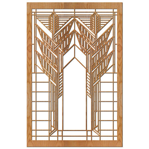 Dana Sumac Double Element Wood Panel.
