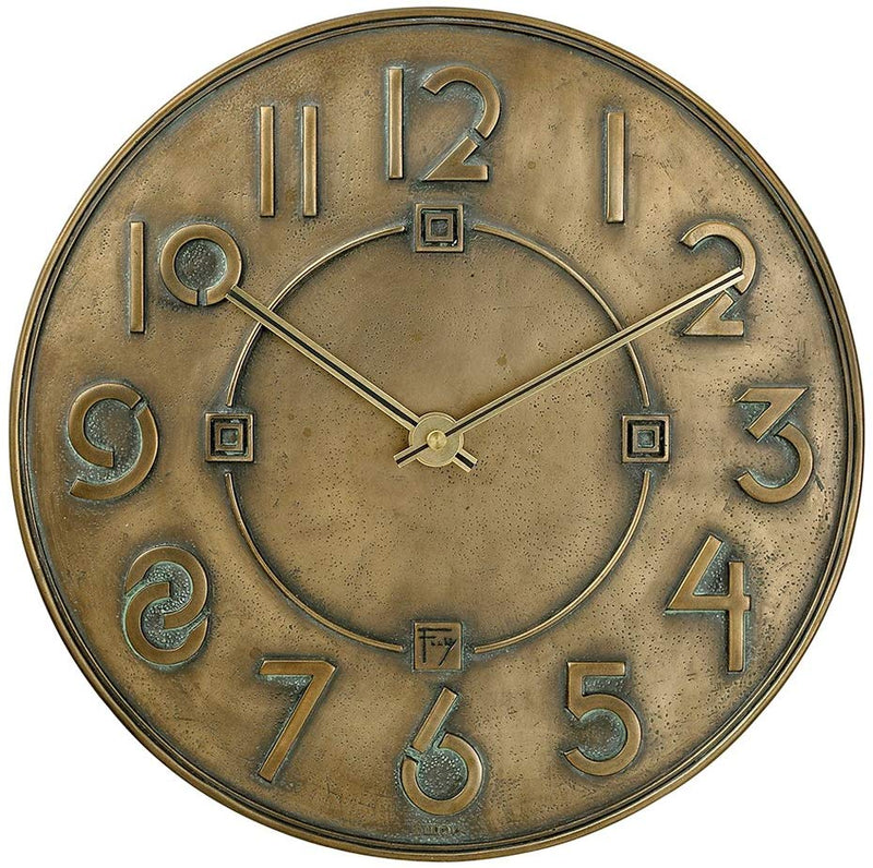 Exhibition Clock, Bronze