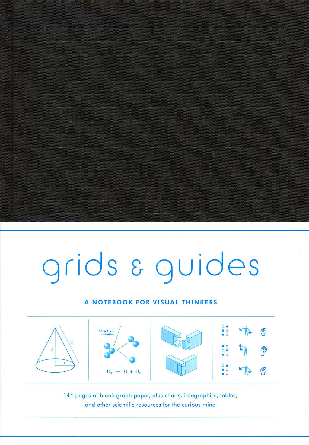 Grids & Guides Notebook Set - Softcover, Black