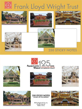 Sticky Notes-Frank Lloyd Wright Trust Sites