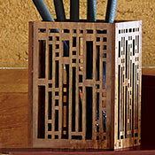 Pen Holder Robie House Stars & Moonbeams.