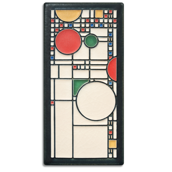 "Coonley Playhouse Tile - 4"" x 8"""