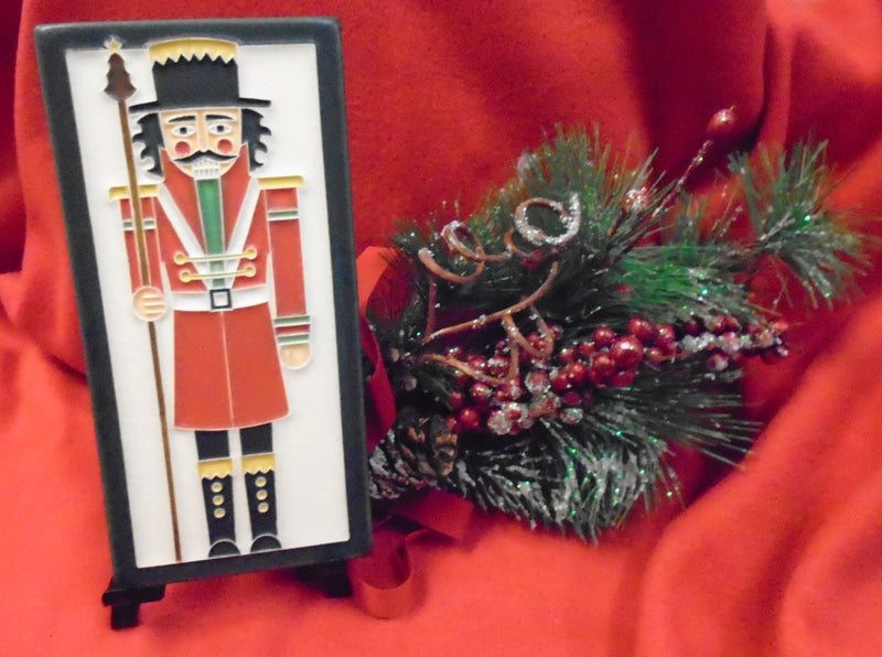 "Dard Hunter Nutcracker Tile - 4"" x 8"""