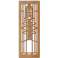 Robie House Window Wood Panel, A Element