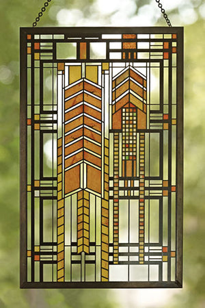 Autumn Sumac Stained Glass