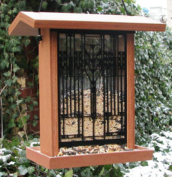 Martin House Bird Feeder - Terra Cotta.