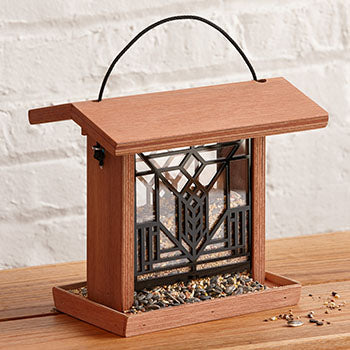 Lake Geneva Bird Feeder - Terra Cotta.