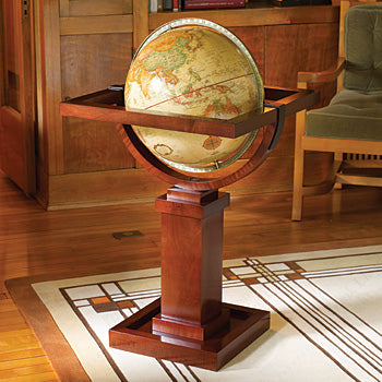 Frank Lloyd Wright Floor Globe.