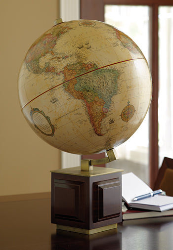 Four Square Desk Globe.