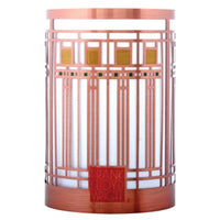 Oak Park Playroom Metal Votive Holder