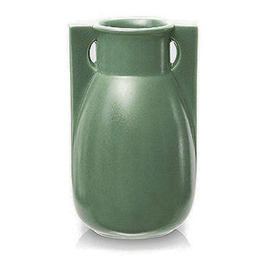 Teco Green Vase-Two Buttress