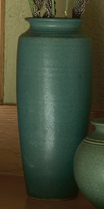 Vase-Straight-Forest Green