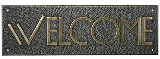 Welcome Sign - Exhibition Font