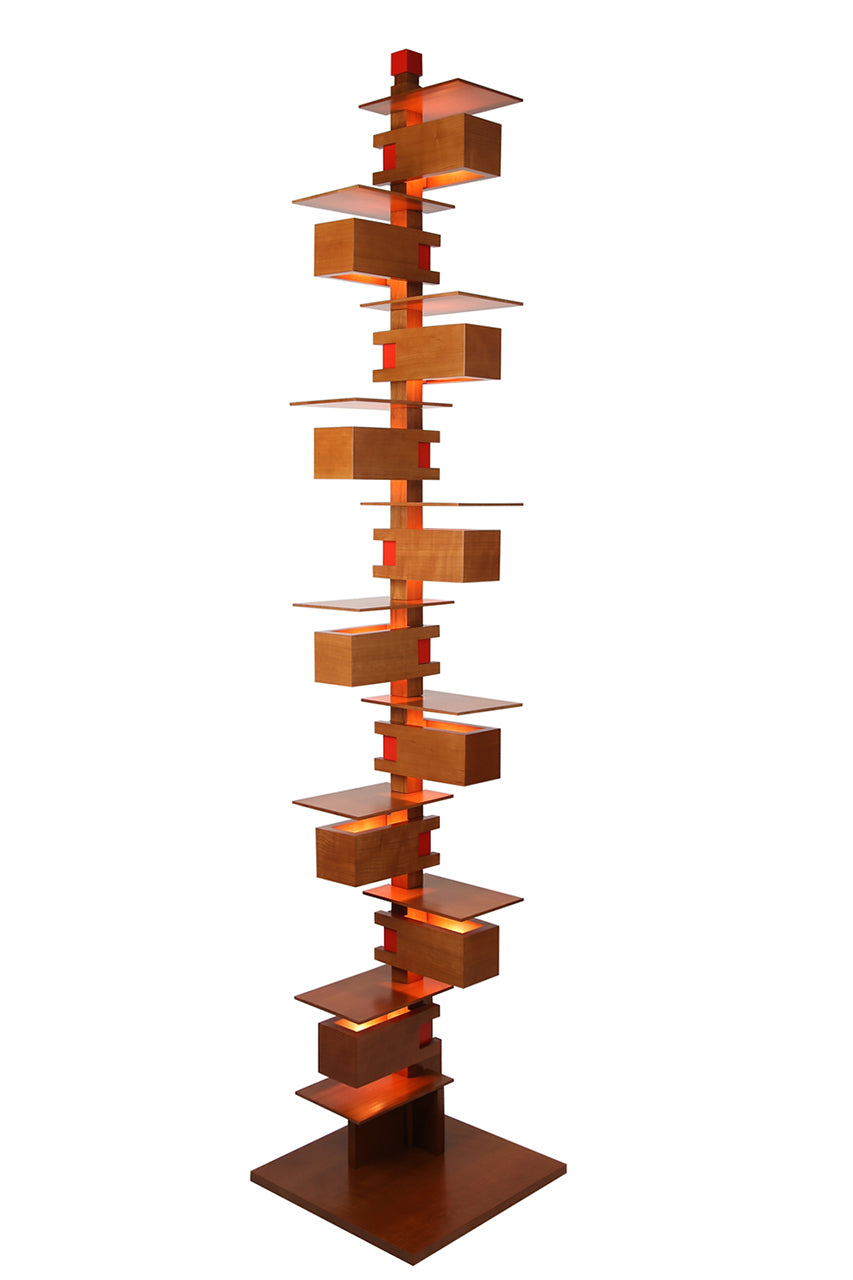 Taliesin Floor Lamp 2 - Cherry.