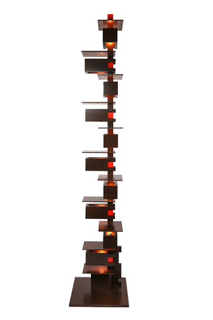 Taliesin Floor Lamp 2 - Walnut.