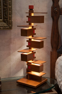 Taliesin Table Lamp 3 - Cherry.