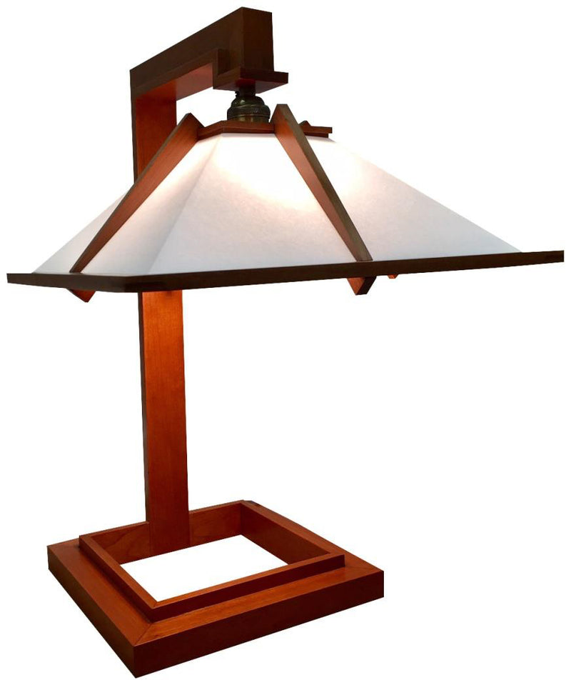 Taliesin Lamp I - Cherry.