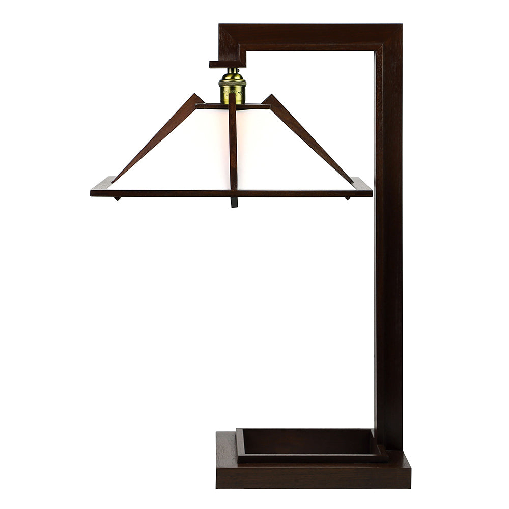 Taliesin Table Lamp I - Walnut.