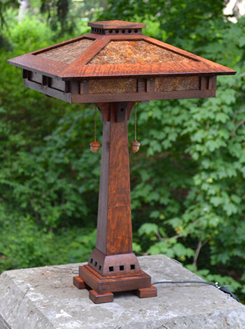 Prairie Craftsman Table Lamp.