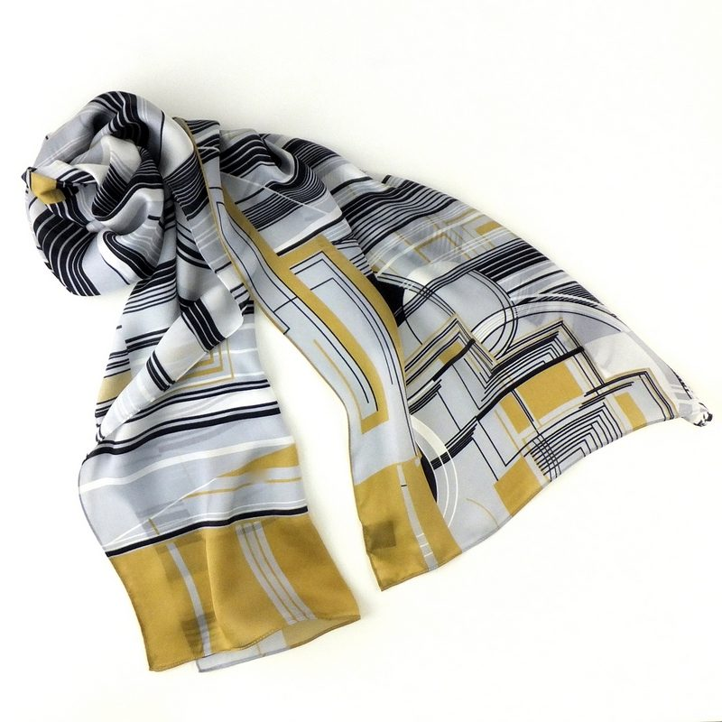 Taliesin Waterfall Scarf