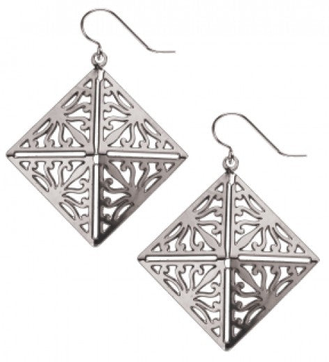 Wrought Iron Acanthus Earrings