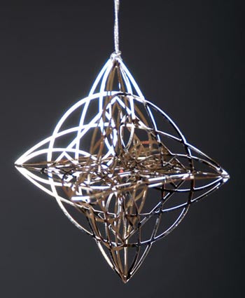 3D Luxfer Ornament