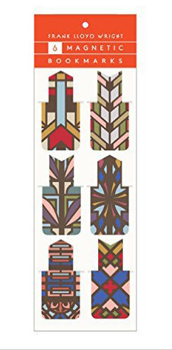 Magnetic Bookmarks-Frank Lloyd Wright