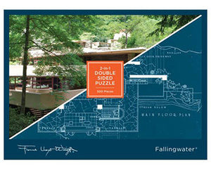 Two Sided Fallingwater Puzzle