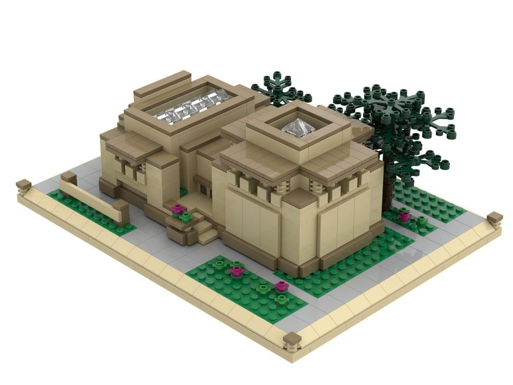 Unity Temple Atom Brick Building Set.