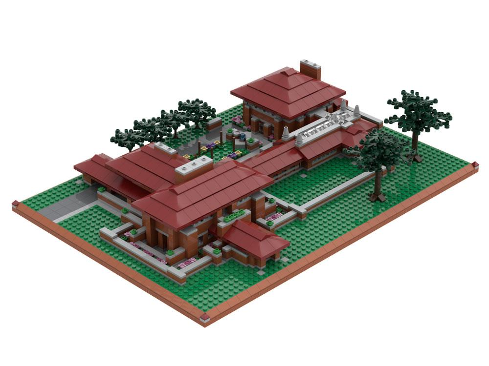 Darwin D. Martin House Atom Brick Building Set